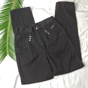 Vintage Rockies Black Highwaisted Straight Jeans